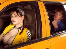 Big Boob Taxi Driver