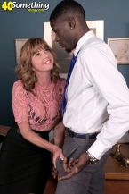 The Boss Loves Larger than typical, Black Cock