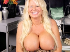 Getting To Know A Monumental boobed, Hard-Nippled MILF