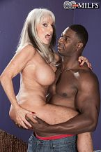 Sally takes on Jax Black's large cock