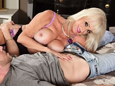 Leah's 1st clip shag is with a young stud