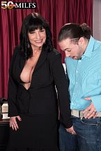Anal and a man-juice pie for President Elektra