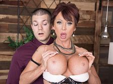 Gina gives new meaning to, Copulate The Boss!